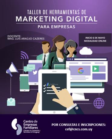 Taller de herramientas de marketing digital para empresas