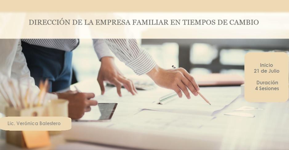 Dirección de la empresa familiar en tiempos de cambio