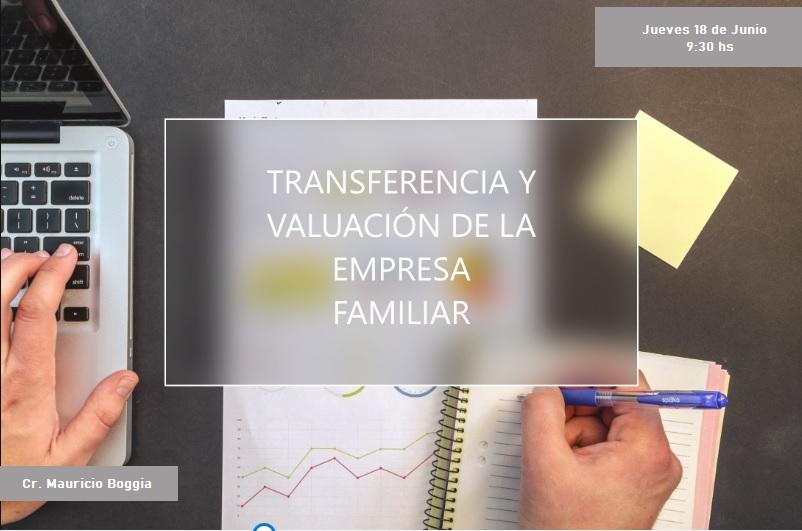 Transferencia y valuación de la empresa familiar