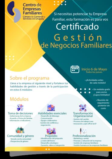 Certificado en Gestión de Negocios Familiares